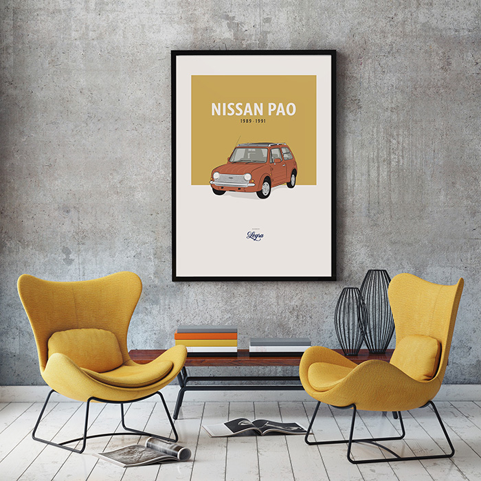 Nissan Pao Artwork Legra