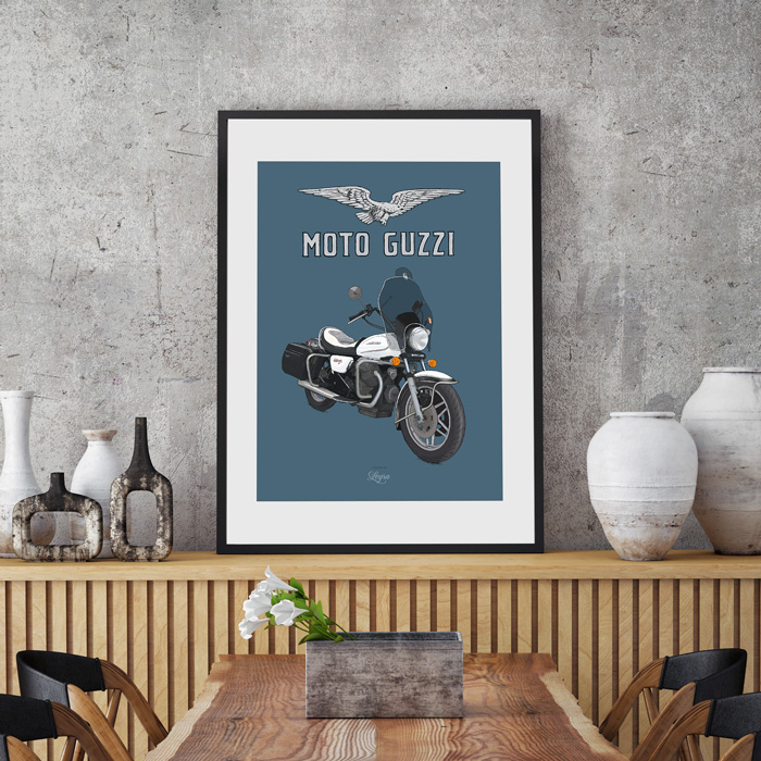 Artwork Moto Guzzi California 2